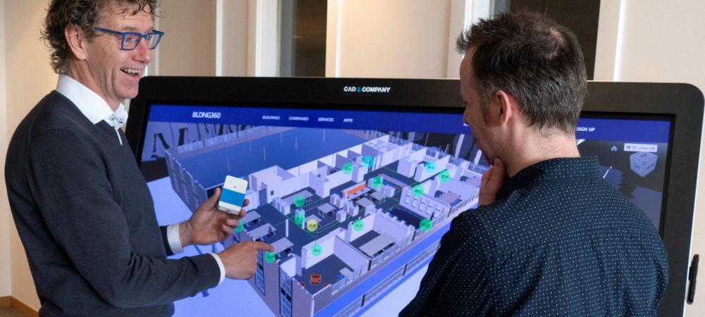 CAD & Company maakt gebouwen slim met Digital Twin en IoT