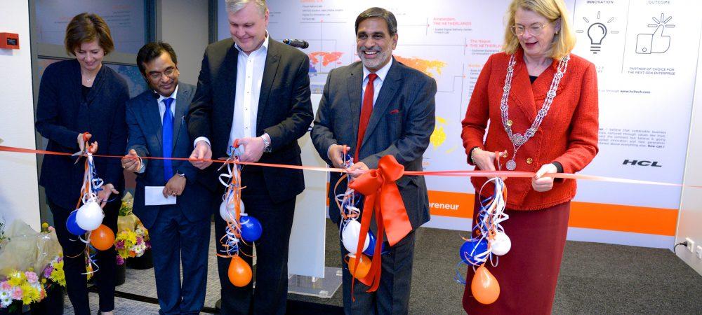 HCL opent nieuw kantoor in Den Haag en viert 20 jaar in Nederland