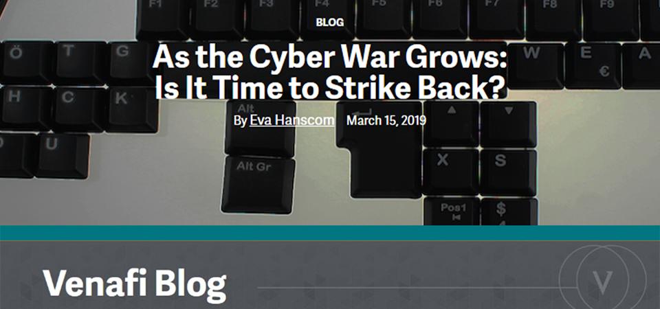 Venafi onderzoek naar cyberdreigingen en offensief hacken