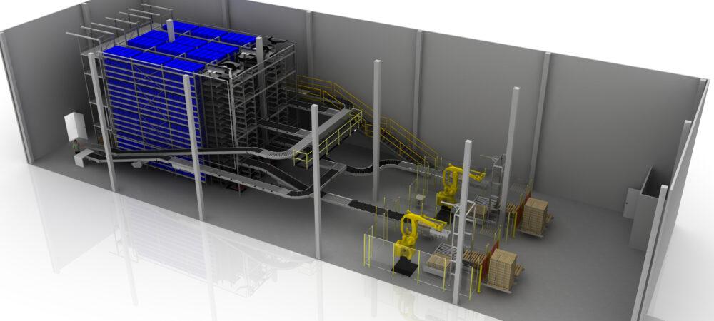 Dematic automatiseringsoplossing voor orderverwerking in proteïnemarkt