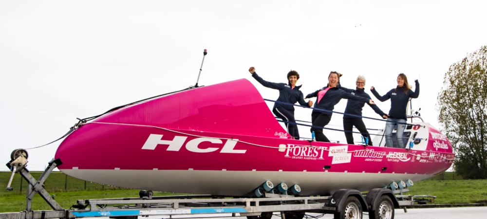 HCL steunt Dutchess of the Sea voor Talisker Whiskey Atlantic Challenge