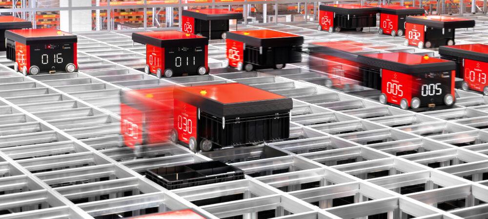 Dematic automatiseert magazijn voor kleine onderdelen in Siemens-fabriek